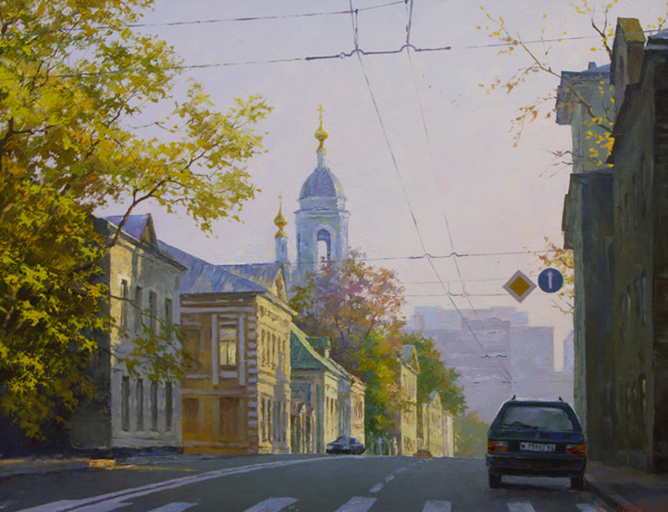 Cover painting: ''An Old Moscow: Nicoloyamskaya Street'' by Dmitry Levin, oil on canvas, 70 x 90 cm (please scroll down to view the table of contents)
