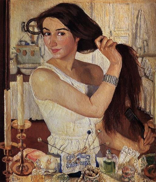 Cover artwork: ''At the Dressing-Table, Self Portrait'' by Zinaida Serebriakova, 1909, oil on canvas, 75 x 65 cm